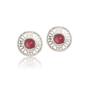 earrings-garnet